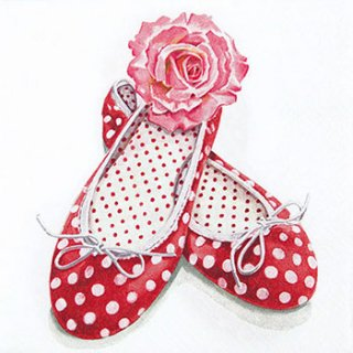 ペーパーナプキン(33)home:(5枚)Alices Shoes-HO206