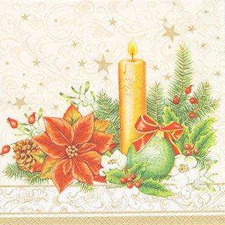 ペーパーナプキン(33)Maki:(5枚)Classical Christmas Decor-MA135