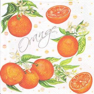 ペーパーナプキン(33)Maki:(5枚)Juicy orange-MA154
