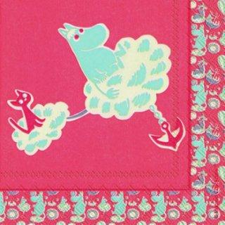 ペーパーナプキン(25)moominムーミン:(5枚)MUUMI rose-mo1(25)