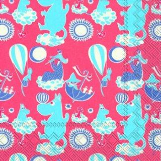 ペーパーナプキン(33)moominムーミン:(5枚)MOOMINS WORLD rose-mo6