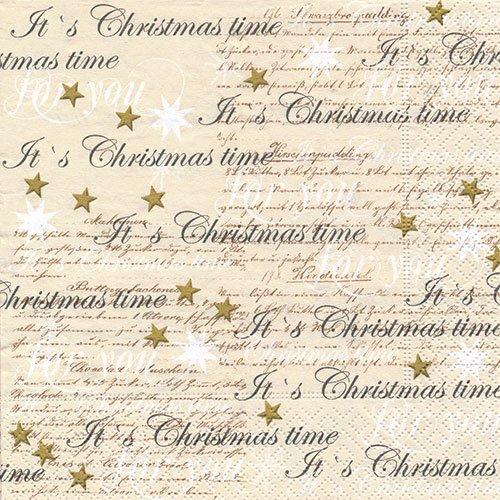 ペーパーナプキン(33)paper:(5枚)Christmas time-PA265