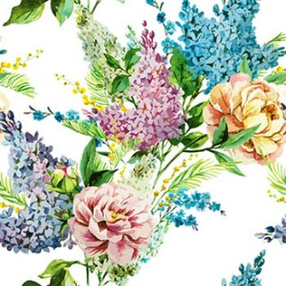 ペーパーナプキン(33)paw:(5枚)Spring Lilac-PW109