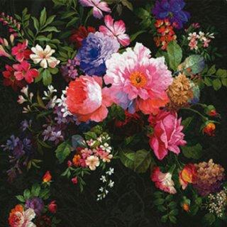 ペーパーナプキン(33)paw:(5枚)Roses on Velvet-PW150
