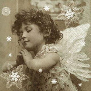 ペーパーナプキン(33)paw:(5枚) Angels Prayer-PW180