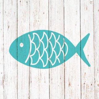 ペーパーナプキン(25)ppd:(5枚)Cabana Fish-PP19(25)