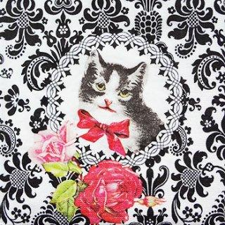 ペーパーナプキン(33)ppd:(5枚)Chat Parisien(猫)-PP43