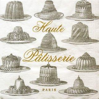 ペーパーナプキン(33)ppd:(5枚)Haute Patisserie-PP65