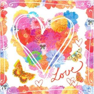 ペーパーナプキン(33)ppd:(5枚)Summer Love-PP75