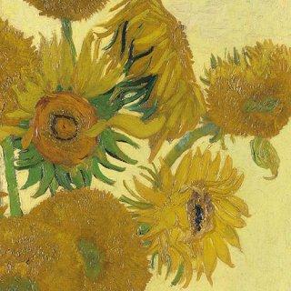 ペーパーナプキン(33)AMB:(5枚)Van Gogh Sunflower-AM572