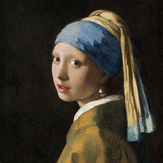 ペーパーナプキン(33)AMB:(5枚)真珠の耳飾りの少女 Girl With The Pearl Earring-AM552