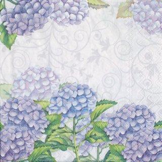 ペーパーナプキン(33)AMB:(5枚)紫陽花-AM555