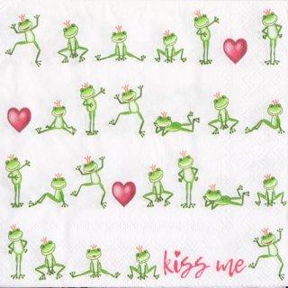 ペーパーナプキン(33)AMB:(5枚)KISS ME-AM568