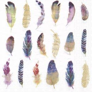 ペーパーナプキン(33)ppd:(5枚)Feathers Fantasy-PP312