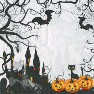 ペーパーナプキン(33)paper:(5枚)Spooky-PA279