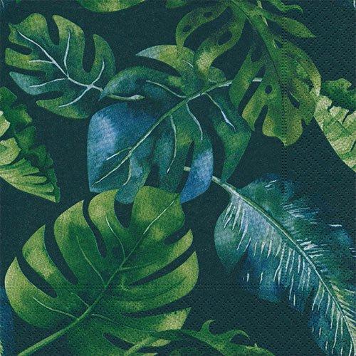 ペーパーナプキン(33)paper:(5枚)Jungle leaves-PA282