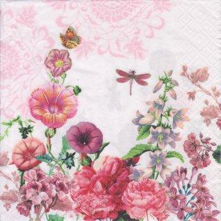 ペーパーナプキン(33)paper:(5枚)Summer garden-PA287