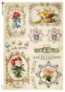 【A3】Paper Designs ライスペーパーFLOWERS_0330