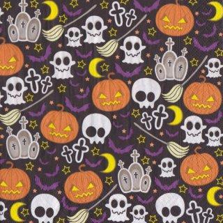 ペーパーナプキン(33)paper:(5枚)Halloween mix-PA290