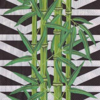 ペーパーナプキン(33)paper:(5枚)Bamboo leaves-PA291