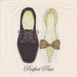 ペーパーナプキン(33)ppd:(5枚)Perfect Pair-PP316
