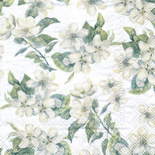 ペーパーナプキン(25)AMB:(5枚)Cherry Blossom grey-AM63(25)