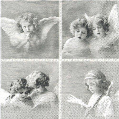 ペーパーナプキン(33)Sagen:(5枚)【s-16】天使