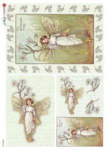 【A4】Paper Designs ライスペーパーFAIRIES_0046