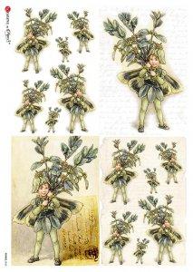 【A4】Paper Designs ライスペーパーFAIRIES_0060