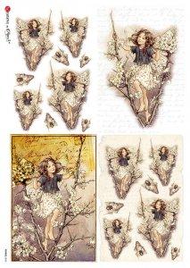 【A4】Paper Designs ライスペーパーFAIRIES_0062
