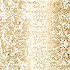 ペーパーナプキン(33)AMB:(5枚)SOPHIA ゴールド-AM25