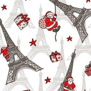 ペーパーナプキン(33)AMB:(5枚)Christmas in Paris-AM435