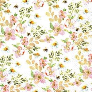 ペーパーナプキン(33)home:(5枚)Spring Breeze-HO229