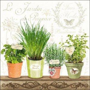 ペーパーナプキン(33)AMB:(5枚)Le Jardin De Provence-AM462