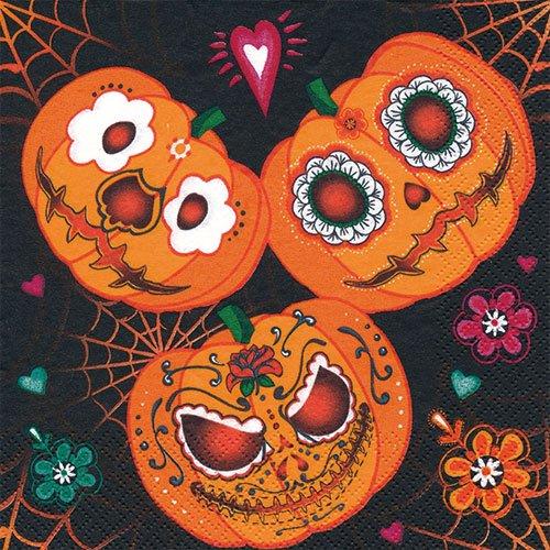 ペーパーナプキン(33)Daisy:(5枚)Mexican Pumpkins-DA119