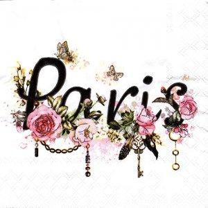 ペーパーナプキン(33)AMB:(5枚)PARIS-AM634