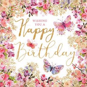 ペーパーナプキン(33)ppd:(5枚)Happy Birthday Wishes-PP350