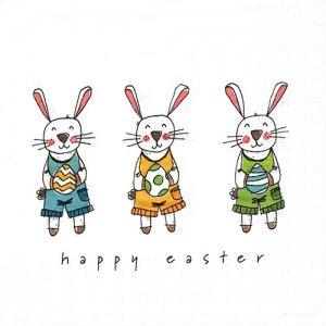 ペーパーナプキン(33)ppd:(5枚)Easter Fun-PP360