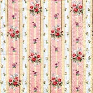 ペーパーナプキン(33)paper duni:(5枚)Roseway-PA321