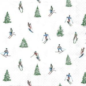 ペーパーナプキン(33)home:(5枚)Skiing-HO236