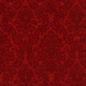 ペーパーナプキン(33)IHR:(5枚)PALAIS red-IH489
