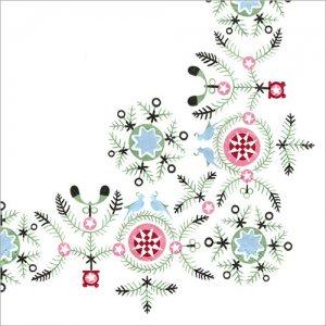 ペーパーナプキン(33)Rorstrand:(5枚)SWGR Winter(スウェディッシュグレース ウィンター)-ro4