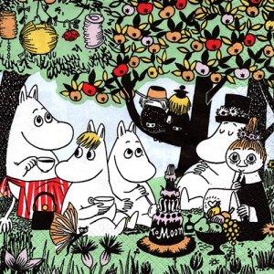 ペーパーナプキン(33)moominムーミン:(5枚)PARTY MOOMIN -mo15