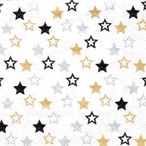 ペーパーナプキン(33)AMB:(5枚)STARS ALL OVER-AM679