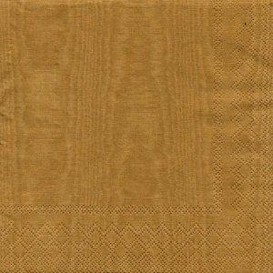 ペーパーナプキン(33)AMB:(5枚)MOIREE(ゴールド)-AM681
