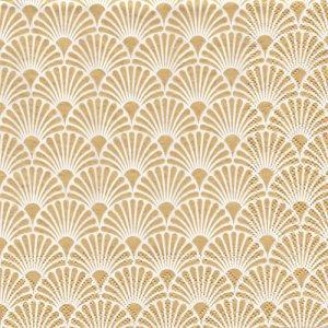 ペーパーナプキン(33)AMB:(5枚)ART DECO(ゴールド)-AM688