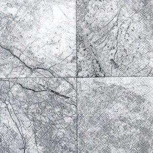 ペーパーナプキン(33)IHR:(5枚)LAPIS silver-IH525