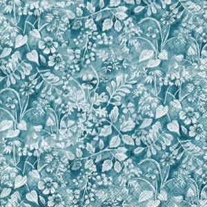 ペーパーナプキン(33)IHR:(5枚)FIONA blue-IH532