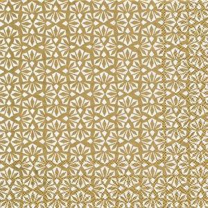 ペーパーナプキン(33)IHR:(5枚)LOFT white gold-IH546
