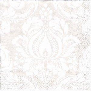 ペーパーナプキン(33)IHR:(5枚)GRENADINE white-IH550